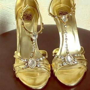 Special occasion heel.
